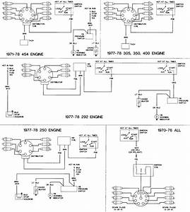 1977 Chevy K20 - Under-hood Electrical Components Identification