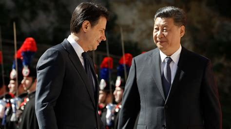 The government was sworn in on 5 september 2019. China pries open EU wall as Italy joins Belt and Road ...