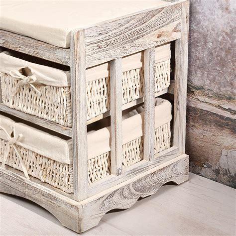 Commode Style Ancien by Commode Banc De Style Ancien En Bois Blanc Antique