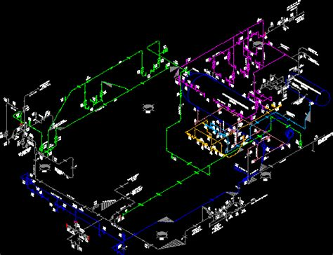isometric piping  autocad cad   kb