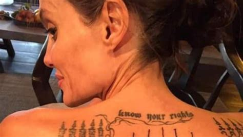 lincroyable signification du tatouage dangelina jolie