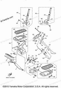 Yamaha Motorcycle 2000 Oem Parts Diagram For Stand