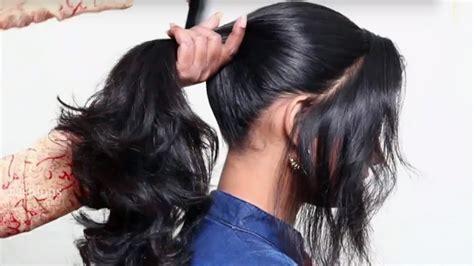 ponytail hairstyles  school girls