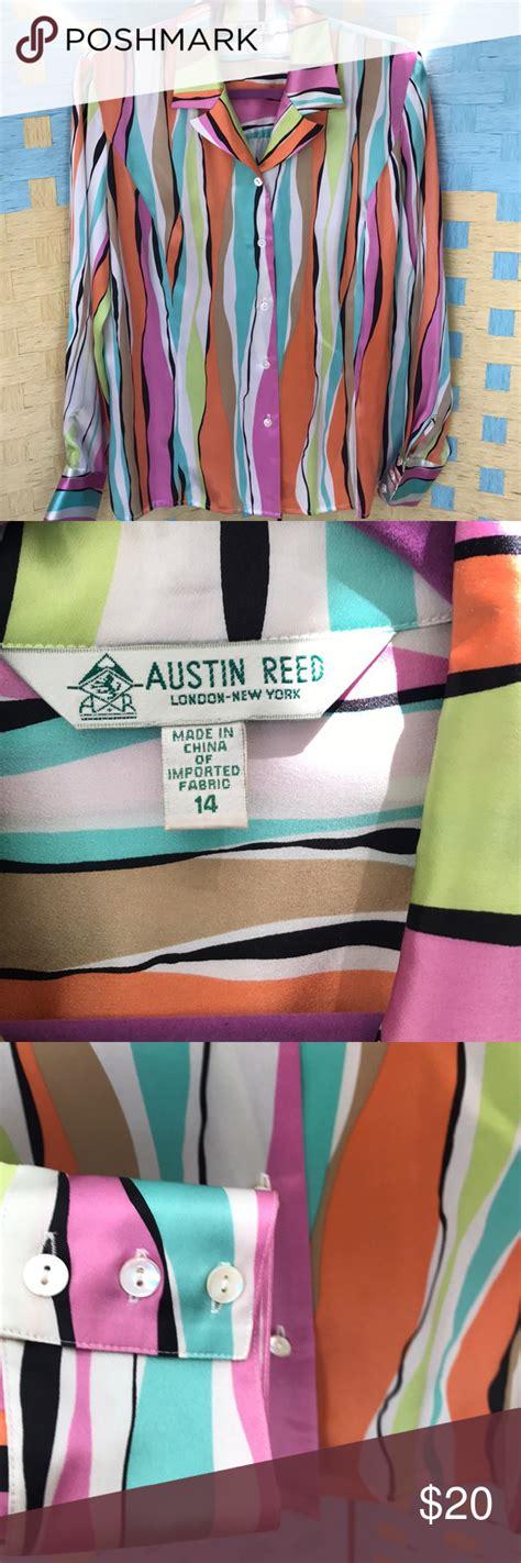austin reed london  york silk blouse  images