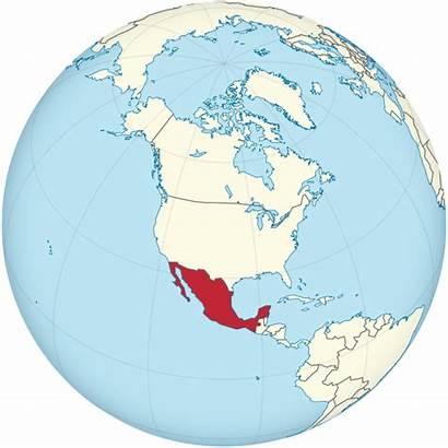 Mexico Globe America North Centered Svg Greenland