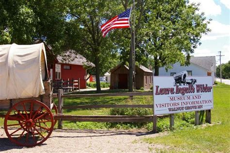 It looks like the old west but with a chinese theme. Laura Ingalls Wilder Museum   Photo