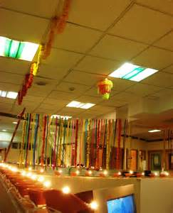 Cubicle Decoration Themes In Office For Diwali by Diwali Office Decoration Ideas Diwali Office Decoration