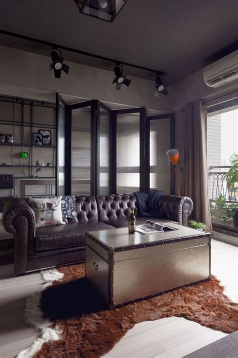 bachelor pad decor ideas  masculine accents