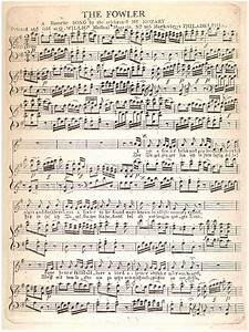 Penn Special Collections - Music/Sheet Music