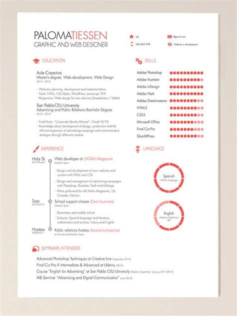 Excellent Cv Templates Free by Cv Template Adobe Illustrator Adobe Cvtemplate