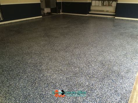 epoxy flooring wichita ks blue silver flake epoxy garage floor by texoma concrete effects wichita falls tx garage