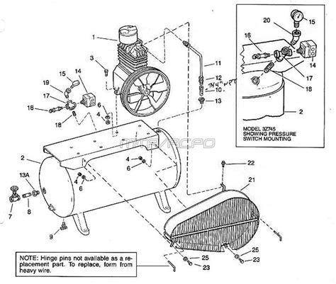 speedaire 3z494 3z495 3z745 air speedaire 3z494 3z495 3z745 air compressor parts