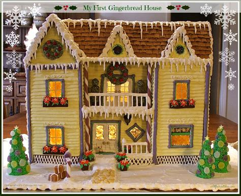 My First Gingerbread House (recipes, Tips And Instructions