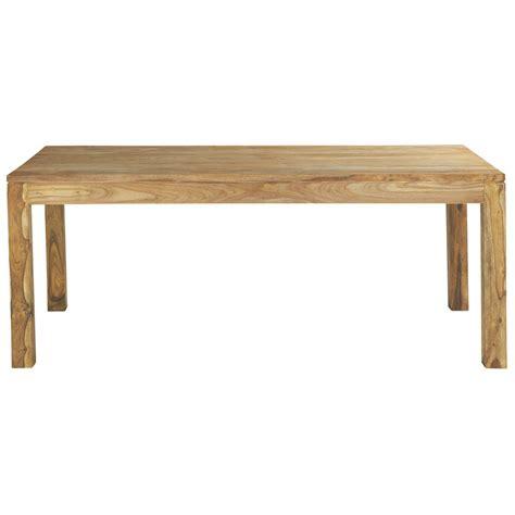 table de salle 224 manger en bois de sheesham massif l 200 cm stockholm maisons du monde