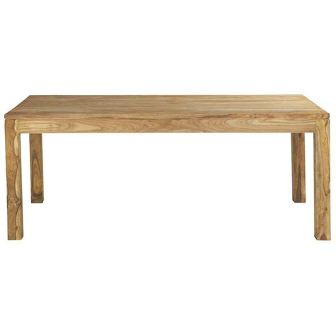 table salle a manger massif table de salle 224 manger en bois de sheesham massif l 200 cm stockholm maisons du monde