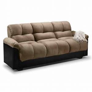 leather futon sofa bed home furniture design With leather futon sofa