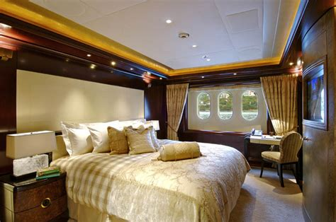 sleek mega yacht kismet cruises  style idesignarch interior design architecture
