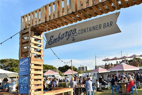 Boatshed South Perth Set Menu by Embargo Container Bar Set To Sail From South Perth