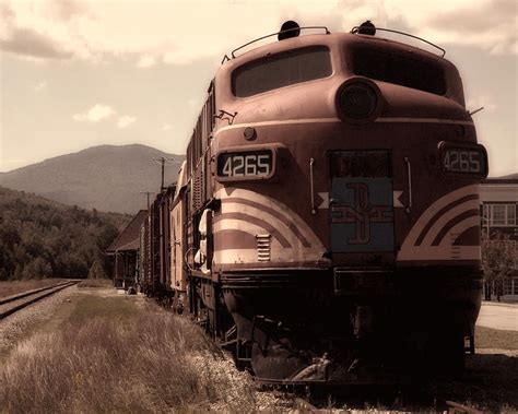 Sad Train Photograph By Ross Powell