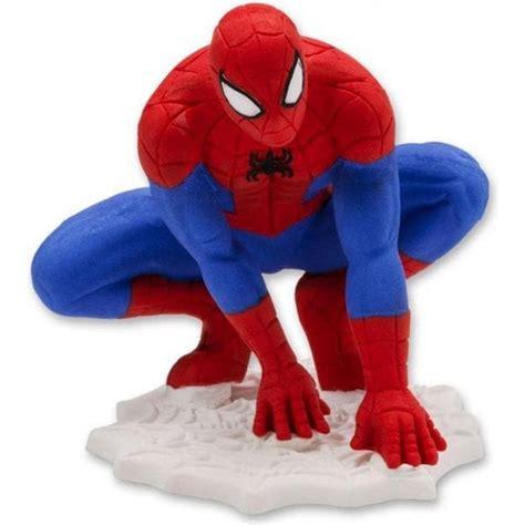 spiderman cake decoration topper figurine