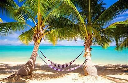Tropical Paradise Beach Summer Sunshine Ocean Sea