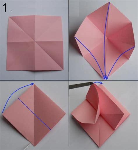 lenschirm basteln papier falten aus papier falten blumen basteln anleitung dekoking