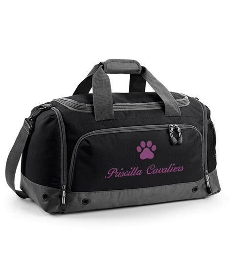 Personalised Dog / Cat Grooming Holdall Bag, Pet Show