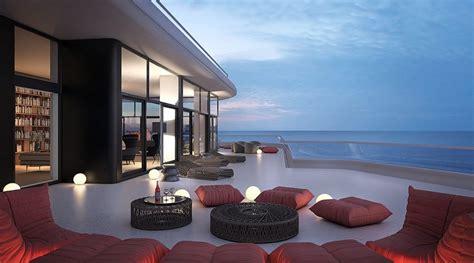 stunning miami beach penthouses  pool architecture design