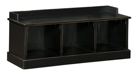 Storage Bench Seat With Back by Storage Bench Seat Wooden Entryway Benches Black New Ebay
