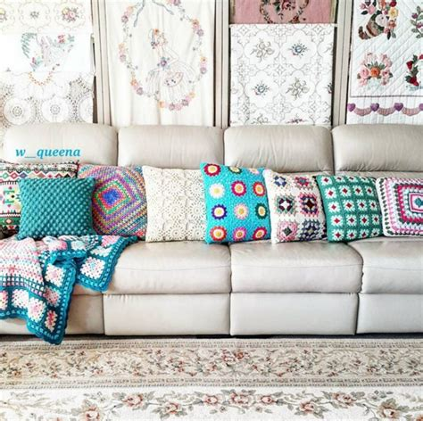 Chic Crochet Décor Makes A Splash At Home Get The Look