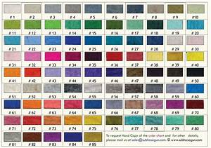 Color Chart Shubha Sagun Wool Handicraft Industries