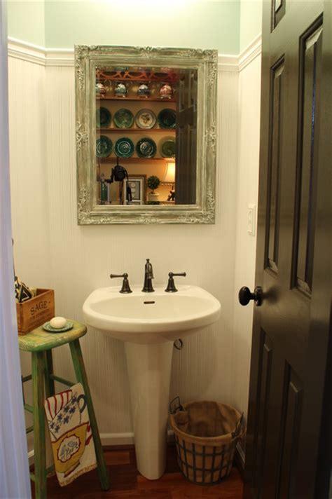 farm style bathroom farm style powder room shabby chic bathroom atlanta