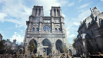 Dame Notre Cathedral Paris Creed Unity Assassin