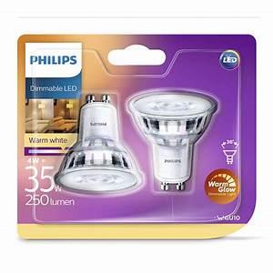 Led Lampen Philips : philips led lamp gu10 4watt dimbaar extra warm licht 2 stuks bestel bij handyman ~ Orissabook.com Haus und Dekorationen