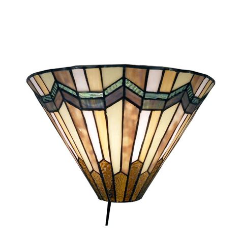 warehouse of tiffany arrow 1 light head brown sconce