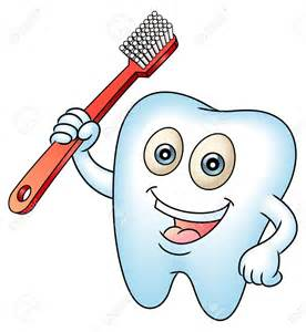 Cartoon Dentist Teeth Cleaning