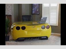 Chevy CorvetteInspired Desk Trumps Model Cars As Home