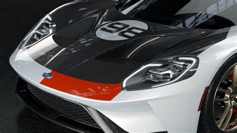 ford gt heritage edition pays tribute   gt