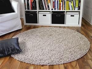 Hochflor Teppich Rund : hochflor langflor shaggy teppich aloha beige rund teppiche hochflor langflor teppiche beige und ~ Indierocktalk.com Haus und Dekorationen