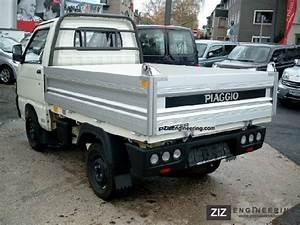 Piaggio Porter  Daihatsu Hijet  Tipper Stock 2012 Tipper Truck Photo And Specs