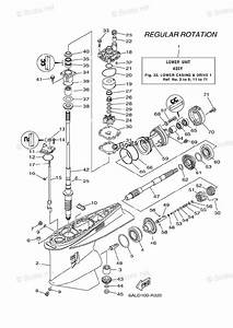 Yamaha Outboard Parts By Hp 225hp Oem Parts Diagram For Lower Casing Drive 1