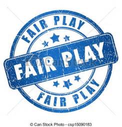 Play Fair Clip Art