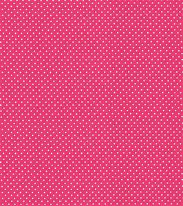 Babyville Boutique 64'' Sassy Girl Fabric Dots Pink White