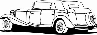 Coloring Pages 1940 Cars Classic Mini Bus