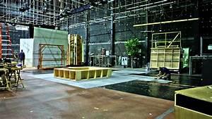Movie Set Construction - YouTube