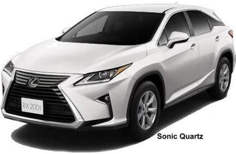 lexus rxt body color photo exterior colour picture colors image