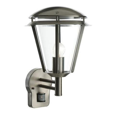 saxby lighting inova pir wall light outdoor pir lanterns