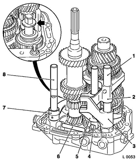 Vauxhall Transmission Diagram by Vauxhall Workshop Manuals Gt Astra G Gt K Clutch And