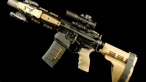 Ar 15 wallpaper 1920x1080 73 pictures. AR-15 style rifle wallpaper - backiee