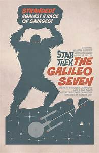 Star Trek's Latest Retro Posters Have Giant Monsters And ...